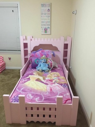 Castle Bed Made