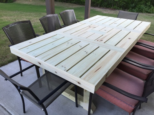 Download Plans Andrew Harris Woodwork Patio Table