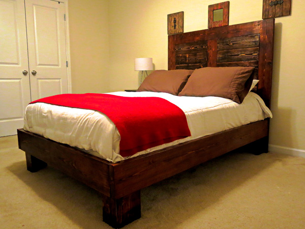 Full Size Bed 1