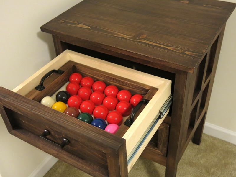 Snooker Cabinet 3