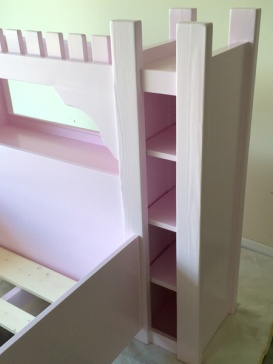 Castle Bed Painted 4 small