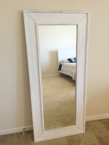 White Tall Mirror 1