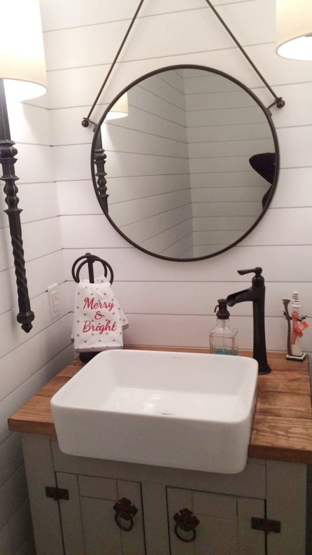 Vanity with Farmhouse Sink 2